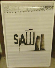 SAW POSTER NEW VINTAGE RARE COLLEGE 2005 DORM MOVIE