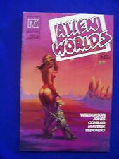 Alien Worlds 1. Sci Fi. Pacific Comics 1983. Al Williamson VFN