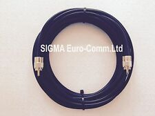 RG8X 50 Ohm 'Mini 8' Super Low Loss Coaxial 15m Fitted With 2 x PL259