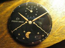 Jaquet Droz Eclipse Perpetual Wrist Watch Advertisement Pocket Lipstick Mirror