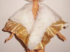 vêtement poupée vintage cape étole de Jem Rock n Gold, Hasbro 1987