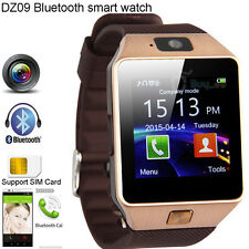 DZ09 Bluetooth Smart Watch Wrist Band GSM For iPhone Samsung HTC Android Phone