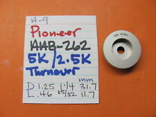 PIONEER AAB-262 TONE TURNOVER KNOB 5K/2.5K KNOB A-9 INTEGRATED AMPLIFIER