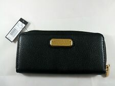 MARC JACOBS Black Leather Wallet NEW WITH TAGS NWT (Worth $198)