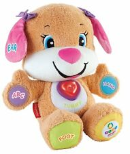 Fisher Price Laugh & Learn Smart Stages Puppy Sis 50 + Songs Tunes & More B066