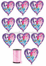 "Disney My Little Pony Birthday Party Theme Decoration 18""10x Foil Mylar Balloons"