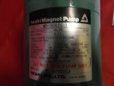 IWAKI MAGNET PUMP ASSY MD-30RZG-3 FOR USE WITH HITACHI 704 AND 705