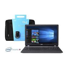 Acer ES1-571-30H3 Intel Core i3-5005U 4GB RAM 1TB Win10 Laptop + Bag & Mouse