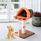 PawHut Play Toy House Cat Tree Condo Tower Kitten Furniture Scratch Post Pet
