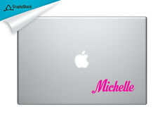 Your Name on Mac Decal Laptop Sticker Mac Decals for 13 15 17 inch custom text