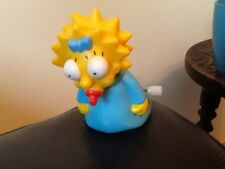 Burger King Toy THE SIMPSONS . MAGGIE . Wind up toy .