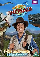 ANDY'S DINOSAUR ADVENTURES -T REX AND PUMICE & OTHER STORIES - DVD - REGION 2 UK