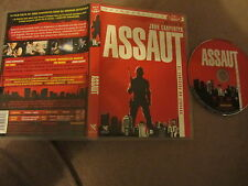 Assaut de John Carpenter avec Austin Stoker, DVD version intégrale, Thriller