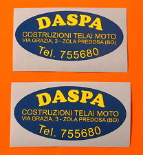 DUCATI BEVEL  NCR 750SS /900SS/IMOLA DASPA TELAI/FRAME/CORSE/RACING/ DECALS PAIR