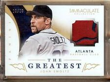 2014 PANINI IMMACULATE THE GREATEST JOHN SMOLTZ PATCH 10/10!!