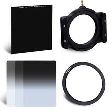 """67mm Adapter Ring&Holder&100*100mm 10-Stop ND1000 4""""x 4"""" Glass&ND2/4/8 Kit"""