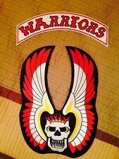 The Warriors Patch Set For Vest Rocker mezco movie leather Patches Embroidered