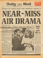 daily mail april 28th 1981 -  new ring for ringo starr