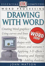 DRAWING WITH WORD (ESSENTIAL COMPUTERS), JOHN WATSON, Used; Good Book