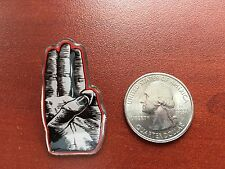 HUNGER GAMES MOCKING JAY 2 LIMITED EDITION PIN * Three (3) Finger Salute *