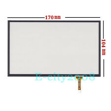 "7.4"" 4pin Resistive Touch screen Panel Digitizer Film for Audi Q7 GPS 170*104mm"