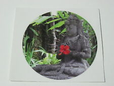 BALI BUDDA STICKER,PEACE,GOOD LUCK,KARMA SYMBOL.ROUND SMALL SIZE, ,SKATE,DECAL