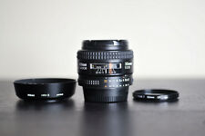 Nikon AF 35mm F2 D Prime FX Lens w/ UV Filter!