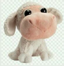 Peluche pecora animali della fattoria big headz sheep  Plush soft toys nuovo