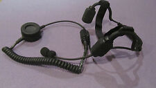 TCI bone conductor headset TABC push to talk complete - mbitr cag delta std6 lbt
