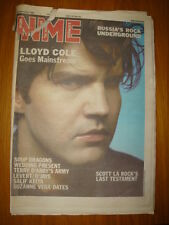 NME 1987 SEP 26 LLOYD COLE SOUP DRAGONS WEDDING PRESENT