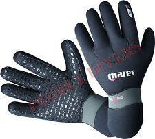 Mares Flexa Fit 5mm Neoprene ultra stretch Gloves Scuba New super strong