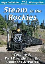 Steam in the Rockies V3 Fall Freights on the Cumbres & Toltec BLU-RAY NEW