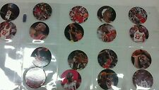 1995 Upper Deck Pogs  Michael Jordan #'s 1-18. Case fresh.