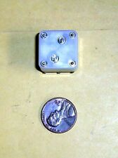 Variable 2 Section Capacitor For Tuning Radio Receivers-NOS