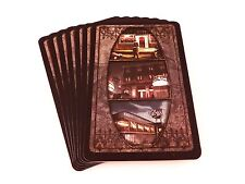 Arkham Horror Replacement Game Parts Gray Easttown Location Cards 7x