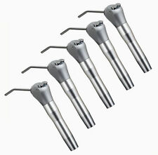 5x Dental Air Water Spray Triple Syringe 3 three Way Handpiece w/ Nozzles Tips