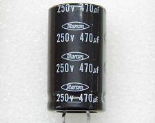 Packung x2 : kondensator 470µF 470uF 470MF 250v einrastbar 105°C