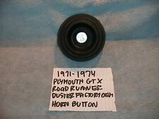 1971-1974 PLYMOUTH GTX ROAD RUNNER DUSTER FACTORY OEM HORN PAD BUTTON FREE SHIPP