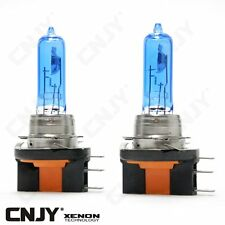 2 AMPOULES H15 DE RECHANGE 15/55W LOOK KIT XENON HID 5000K FEUX ROUTE VW GOLF 6