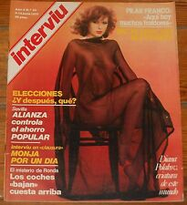 INTERVIU 1977 #56 Diana Polakov nude spanish men magazine revista Picasso