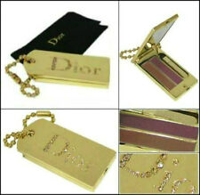 100%AUTHENTIC Ltd Edition DIOR COUTURE SWAROVSKI JEWEL GOLD Makeup HANDBAG CHARM