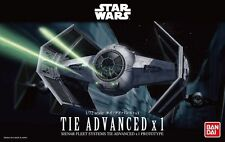 BANDAI STAR WARS MODELE KIT tie advanced MAQUETTE NEUVE 1/72 A MONTER