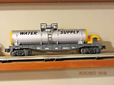 Lionel Service Station WATER SUPPLY tank car  - Fire Co. #1