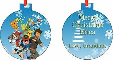 Personalized Pokemon Ornament ( Add Any Message You Want)