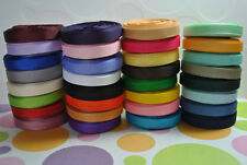 "1/4"" Grosgrain hairbow ribbon 340 yards solid wholesale lot"