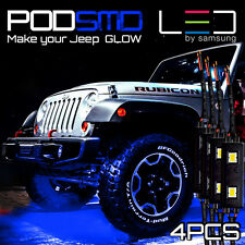 LED 4X4/OFF ROAD/JEEP Under Body Rock Lights Ultra Bright Blue !