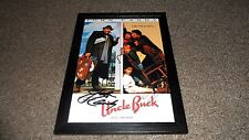 "UNCLE BUCK CAST PP SIGNED & FRAMED POSTER 12""X8"" JOHN CANDY MACAULAY CULKIN"