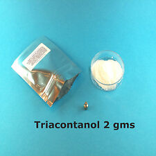Triacontanol plant growth boosting hormone, flowering.