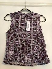 BNWT GLAMOROUS FLORAL SQUARE PRINT TOP SIZE 10