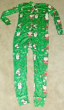 Christmas Santa Claus Reindeer Adult Onesize sz. Medium New with Tags!